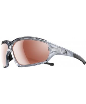 Evil Eye Halfrim Pro Shiny Black & Green / LST Active Silver + LST Bright (Antifog)