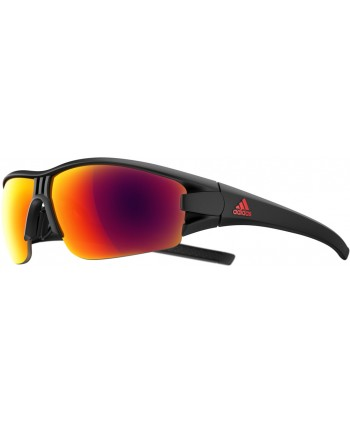 on sale 987ff 6313e Evil Eye Halfrim Matte Black   Red Mirror
