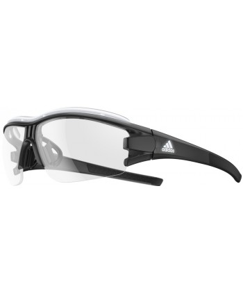 Evil Eye Halfrim Shiny Black / LST Polarized Silver
