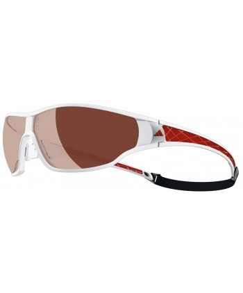 Tycane Pro Shiny White & Red / LST Polarized Silver H+
