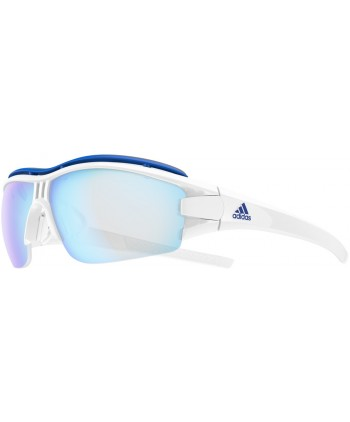 14fae5faba Evil Eye Halfrim Pro Shiny White / Vario Blue Mirror