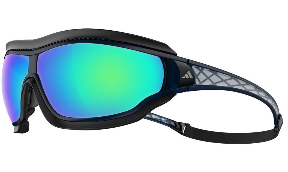 9e8d65065 Evil Eye Evo Shiny Black / Green Mirror - Gafa Deportiva