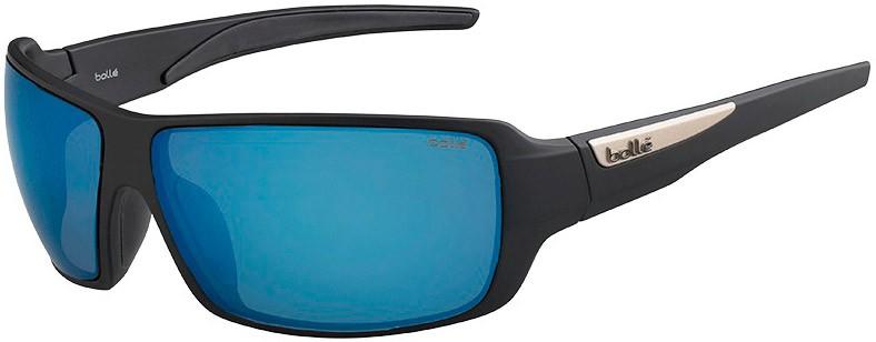 Bolle Sunglasses Bolt S Shiney Black PC TNS Oleo AF