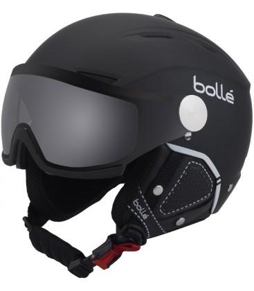 bb1734efe8e Backline Visor Premium Soft Black   White   Photochromic Silver