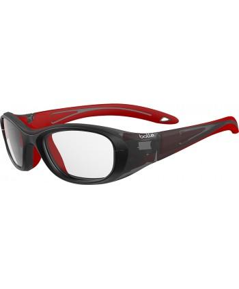 Coverage Black & Red / Clear PC AF