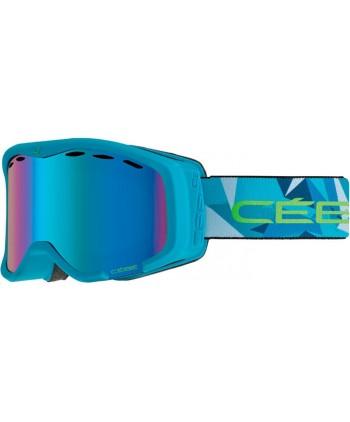 Cheeky OTG Blue & Lime / Light Rose Flash Mirror