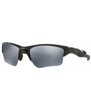 Half Jacket 2.0 XL Polished Black / Black Iridium Polarized