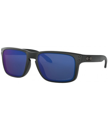 Holbrook Matte Black / Ice Iridium Polarized