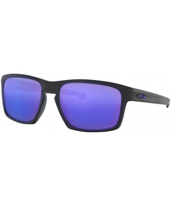Sliver Matte Black / Violet Iridium Polarized