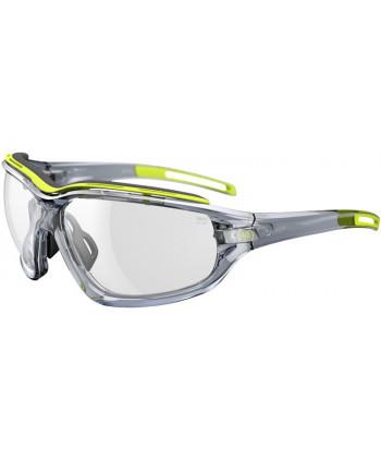 Elate Pro Yellow Transparent Matt / LST Grey Silver