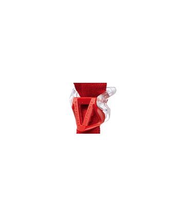 Transparent & Red (2pcs)