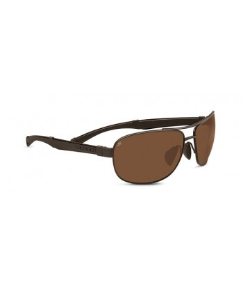 Norcia Satin Espresso & Brown / Polarized Drivers