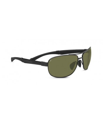 Norcia Satin Black & Black / Polarized 555 nm