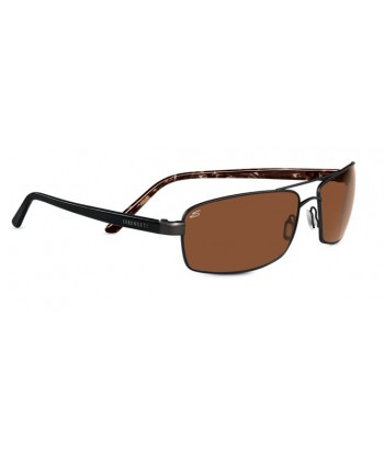 San Remo Shiny Dark Brown & Black Tortoise / Polarized Drivers