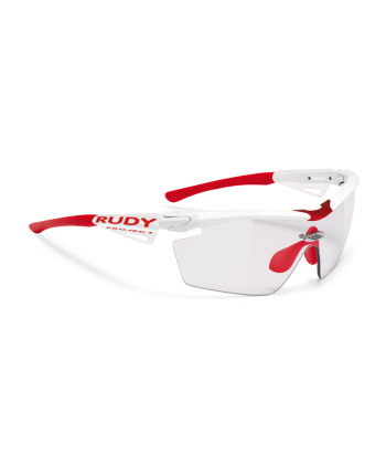 Genetyk Racing Pro White Gloss / ImpactX™ Photochromic 2 Black