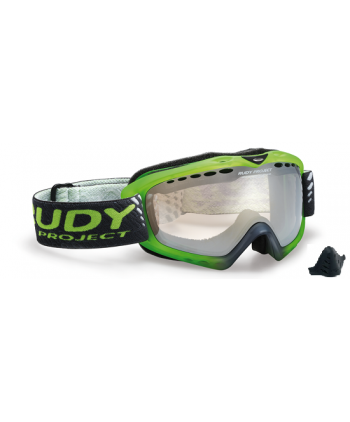 Klonyx Snow Sferik Frozen Crystal & Red Fluo / ImpactX™ Photochromic Multilaser Clear DL Spheric