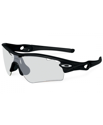 Radar Polished Black / Clear Black Iridium Photochromic (Vented)