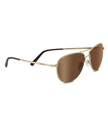 Alghero Satin Soft Gold / Polarized Drivers Gold