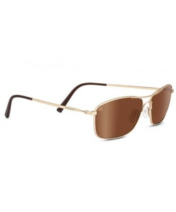 Corleone Satin Soft Gold / Polarized Drivers Gold