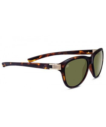 Satin Dark Tortoise & Satin Brass / Polarized 555nm