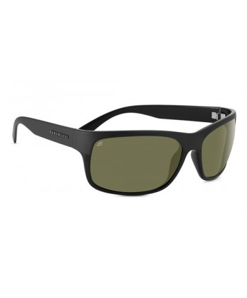 Pistoia Satin Black / Polarized 555nm Blue