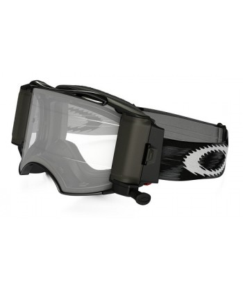 Airbrake MX Jet Black Speed / Clear