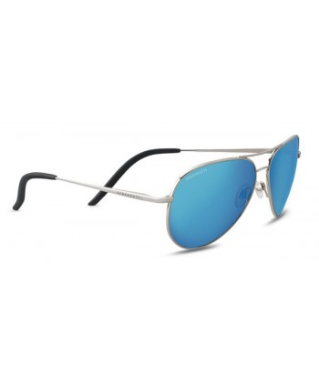 Carrara Shiny Black / Polarized 555nm Blue