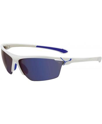 Cinetik Shiny White & Blue / 1500 Grey Flash + Clear + Yellow