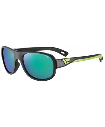 Zac Matte Black & Green / 1500 Grey Blue Light